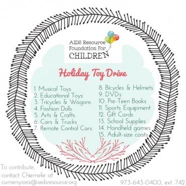 ARFC Holiday Wish List