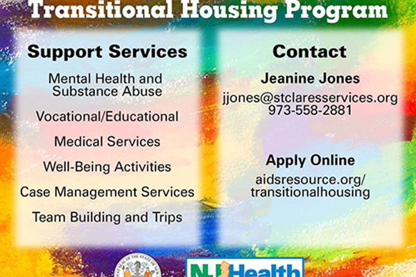 Project Nest Transitional Housing Program referrals for homeless HIV-positive gay/bisexual young men.