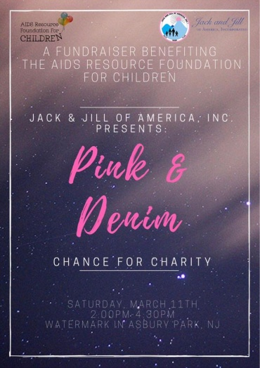 """""""Pink & Denim Chance For Charity"""" Fundraiser"""