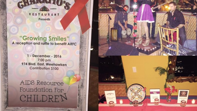 Charrito's Restaurant World AIDS Day Fundraiser