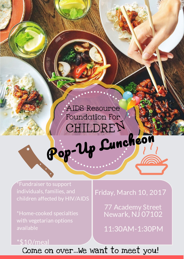 Pop-Up Food Fundraiser